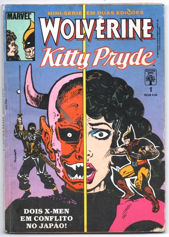 WOLVERINE & KITTY PRYDE - PARTE 1 - ED. ABRIL