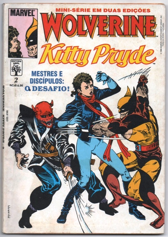 WOLVERINE & KITTY PRYDE - PARTE 2 - ED. ABRIL