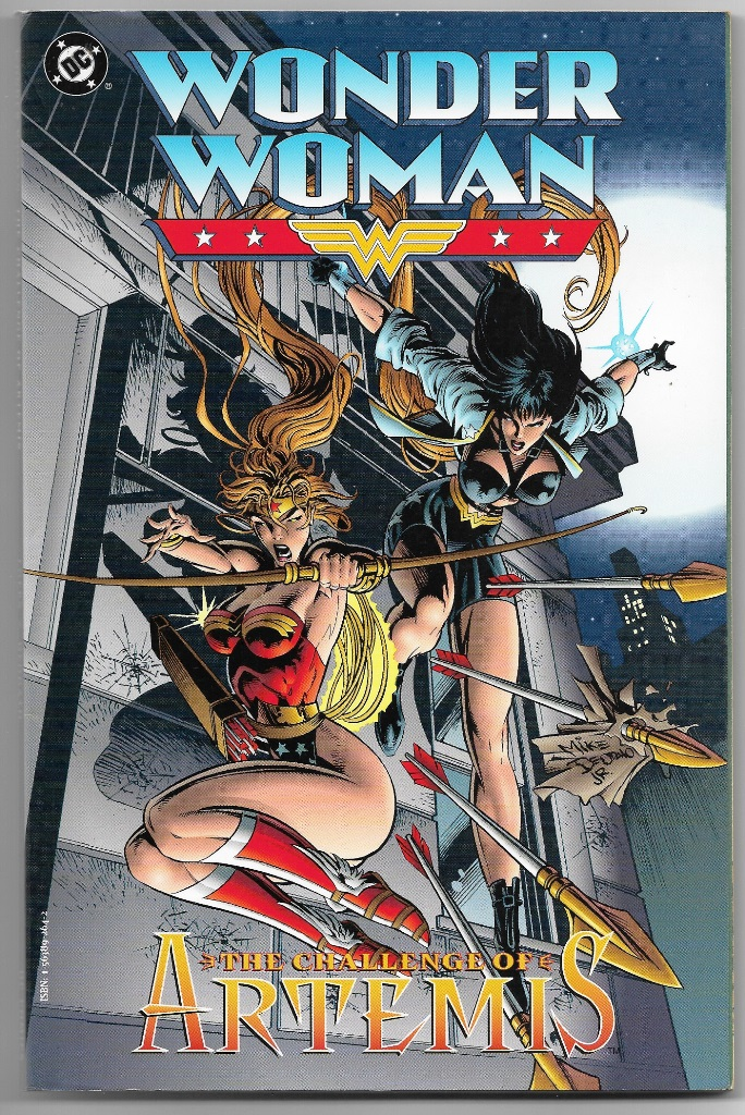 WONDER WOMAN - THE CHALLENGE OF ARTEMIS - AMERICANA