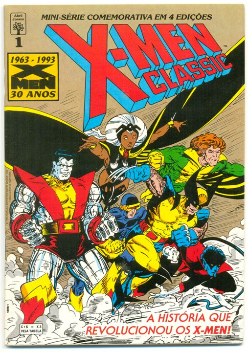 X-MEN CLASSIC I PARTE 01 - ED. ABRIL