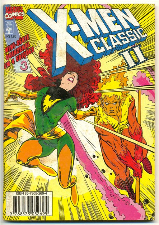 X-MEN CLASSIC I PARTE 03 - ED. ABRIL