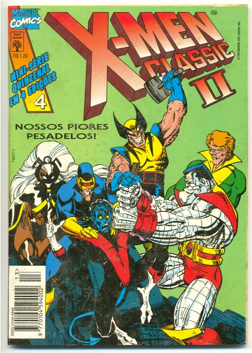 X-MEN CLASSIC I PARTE 04 - ED. ABRIL
