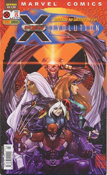 X-MEN EVOLUTION nº03 - EDITORA PANINI