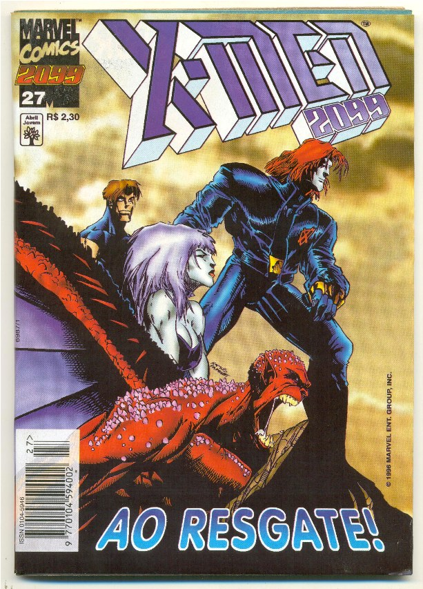X-MEN 2099 n°27 - EDITORA ABRIL