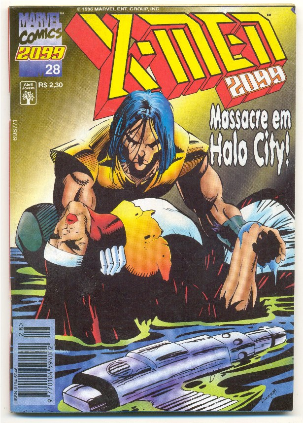 X-MEN 2099 n°28 - EDITORA ABRIL