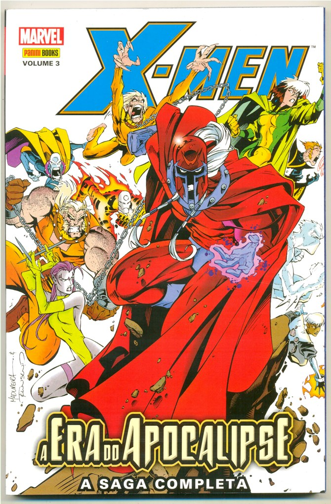 X-MEN A ERA DO APOCALIPSE nº03 - EDITORA PANINI