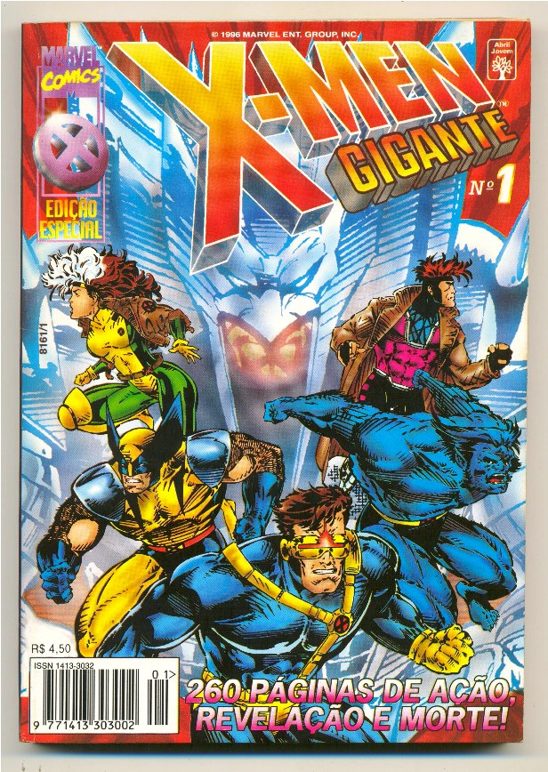 X-MEN GIGANTE nº01 - EDITORA ABRIL