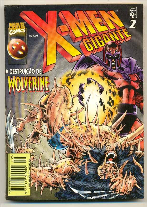 X-MEN GIGANTE nº02 - EDITORA ABRIL
