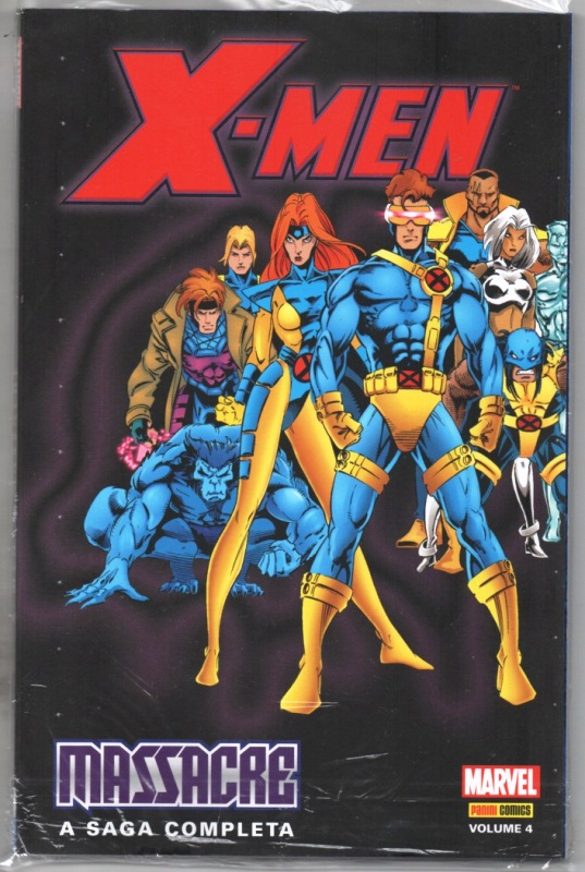 X-MEN MASSACRE nº04 - PANINI