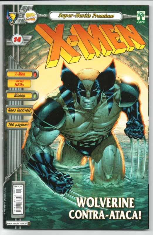 X-MEN PREMIUM n°14 - EDITORA ABRIL