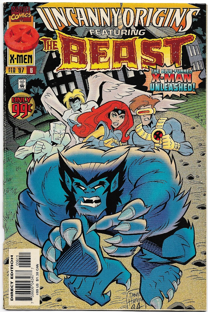 X-MEN - UNCANNY ORIGINS FEATURING THE BEST - AMERICANA - Nº06