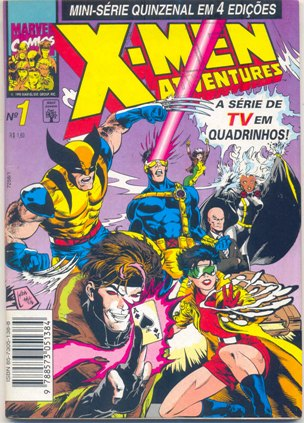 X-MEN ADVENTURES I PARTE 01 - ED. ABRIL