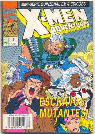 X-MEN ADVENTURES I PARTE 03 - ED. ABRIL