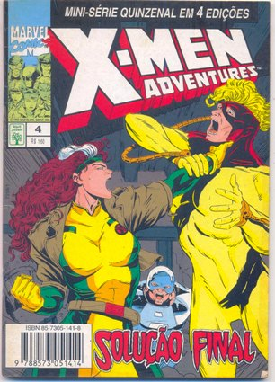 X-MEN ADVENTURES I PARTE 04 - ED. ABRIL