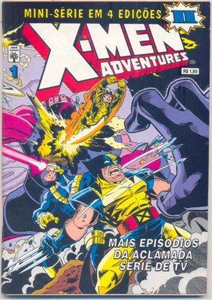 X-MEN ADVENTURES II PARTE 01 - ED. ABRIL