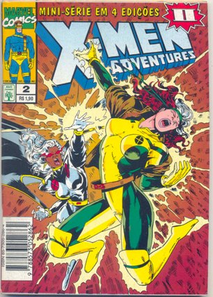 X-MEN ADVENTURES II PARTE 02 - ED. ABRIL
