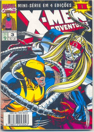 X-MEN ADVENTURES II PARTE 03 - ED. ABRIL