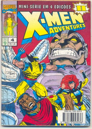 X-MEN ADVENTURES II PARTE 04 - ED. ABRIL