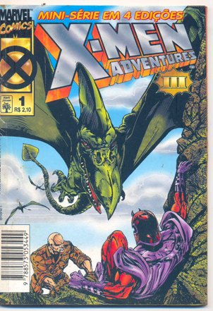 X-MEN ADVENTURES III PARTE 01 - ED. ABRIL