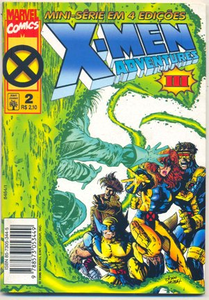X-MEN ADVENTURES III PARTE 02 - ED. ABRIL