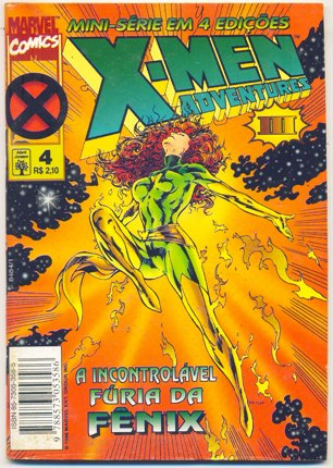 X-MEN ADVENTURES III PARTE 04 - ED. ABRIL