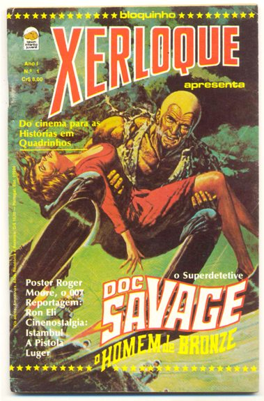 XERLOQUE nº01 - DOC SAVAGE - EDITORA BLOCH