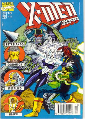 X-MEN 2099 n°10 - EDITORA ABRIL
