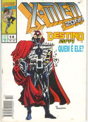 X-MEN 2099 n°14 - EDITORA ABRIL