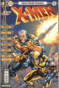 X-MEN PREMIUM n°03 - EDITORA ABRIL