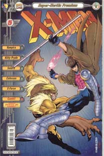 X-MEN PREMIUM n°05 - EDITORA ABRIL