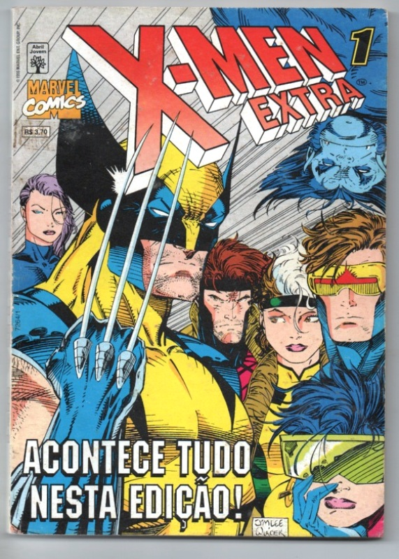 X-MEN EXTRA nº01 - EDITORA ABRIL