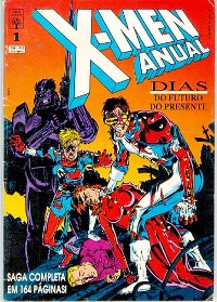 X-MEN ANUAL nº01 - EDITORA ABRIL