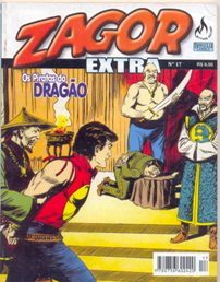 ZAGOR EXTRA nº017 - EDITORA MYTHOS - OS PIRATAS DO DRAGÃO