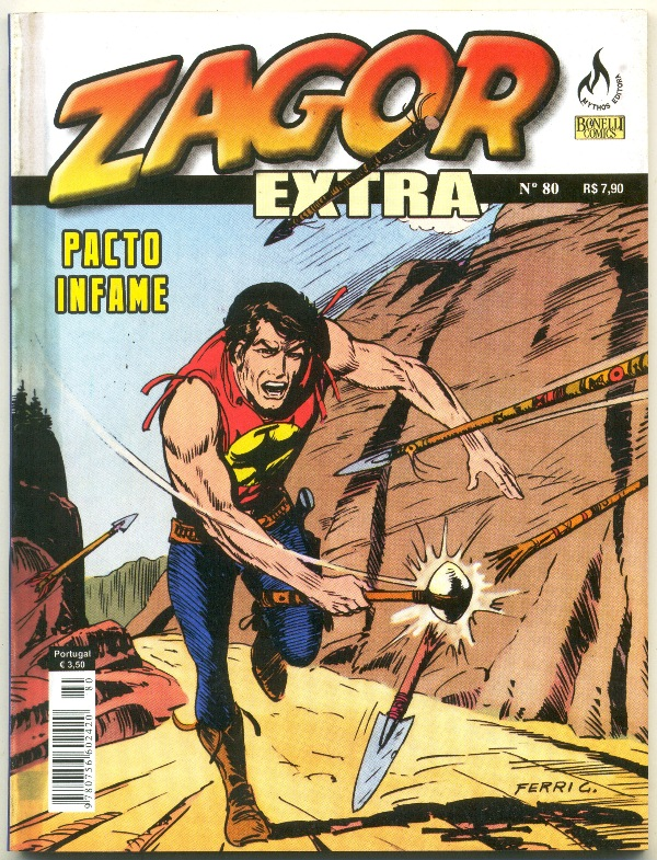 ZAGOR EXTRA nº080 - ED. MYTHOS - PACTO INFAME