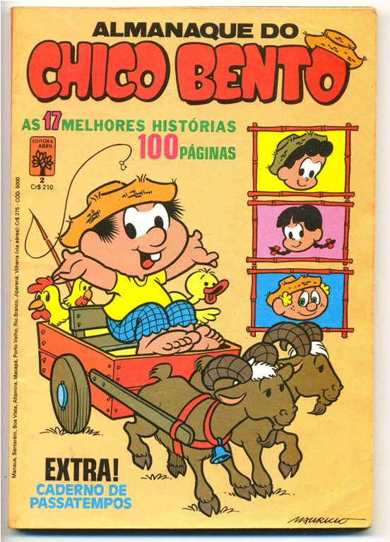 ALMANAQUE DO CHICO BENTO nº02 - EDITORA ABRIL