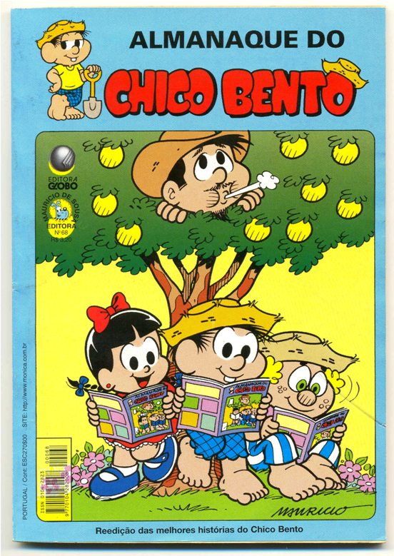 ALMANAQUE DO CHICO BENTO nº68 - EDITORA GLOBO