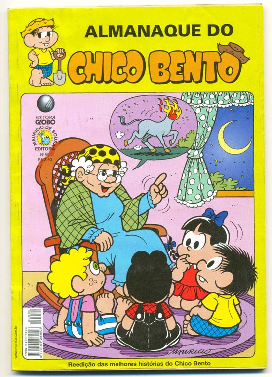 ALMANAQUE DO CHICO BENTO nº80 - EDITORA GLOBO