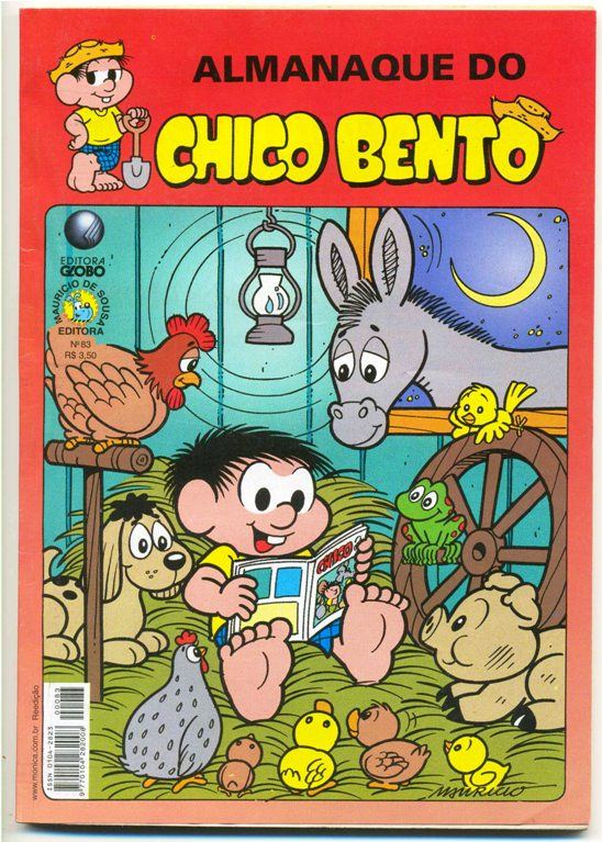 ALMANAQUE DO CHICO BENTO nº83 - EDITORA GLOBO