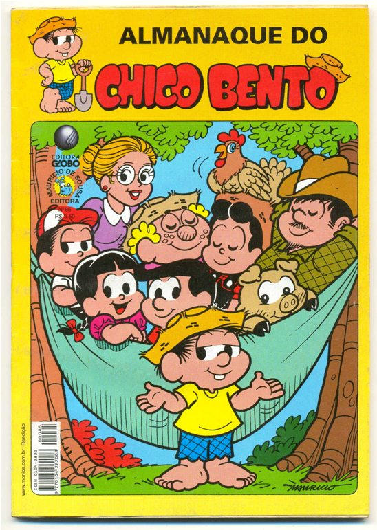 ALMANAQUE DO CHICO BENTO nº85 - EDITORA GLOBO