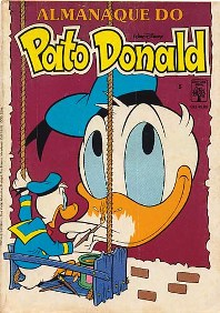 ALMANAQUE DO PATO DONALD - 1ª SÉRIE  nº05 - ED. ABRIL