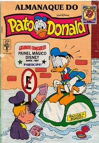 ALMANAQUE DO PATO DONALD - 1ª SÉRIE  nº10 - ED. ABRIL
