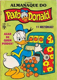 ALMANAQUE DO PATO DONALD - 1ª SÉRIE  nº12 - ED. ABRIL