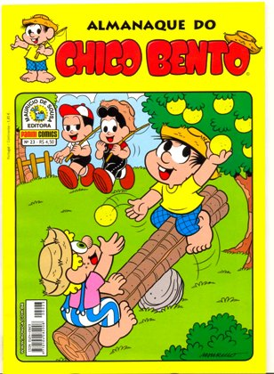 ALMANAQUE DO CHICO BENTO nº023 - EDITORA PANINI