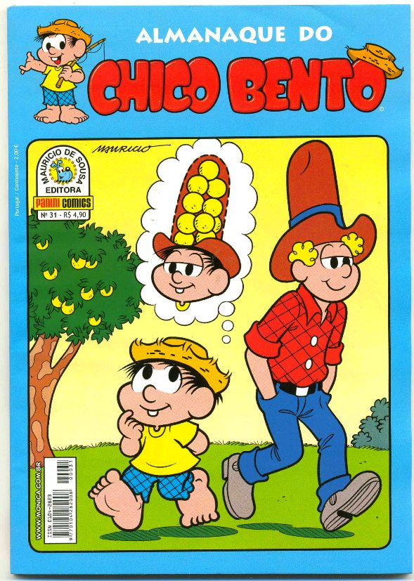 ALMANAQUE DO CHICO BENTO nº031 - EDITORA PANINI
