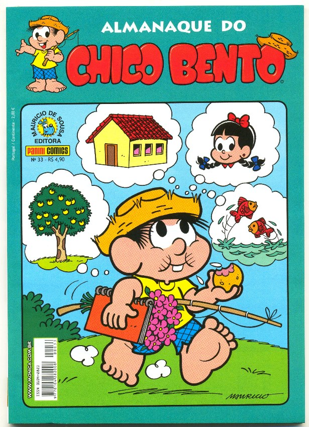 ALMANAQUE DO CHICO BENTO nº033 - EDITORA PANINI