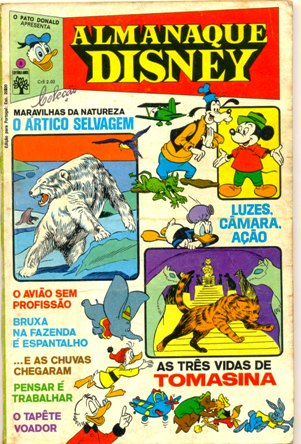 ALMANAQUE DISNEY nº008 - EDITORA ABRIL