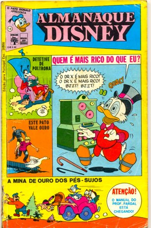 ALMANAQUE DISNEY nº018 - EDITORA ABRIL