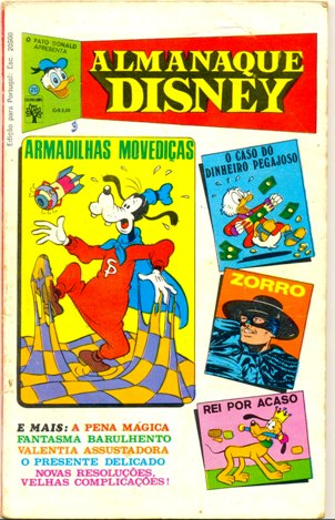 ALMANAQUE DISNEY nº020 - EDITORA ABRIL