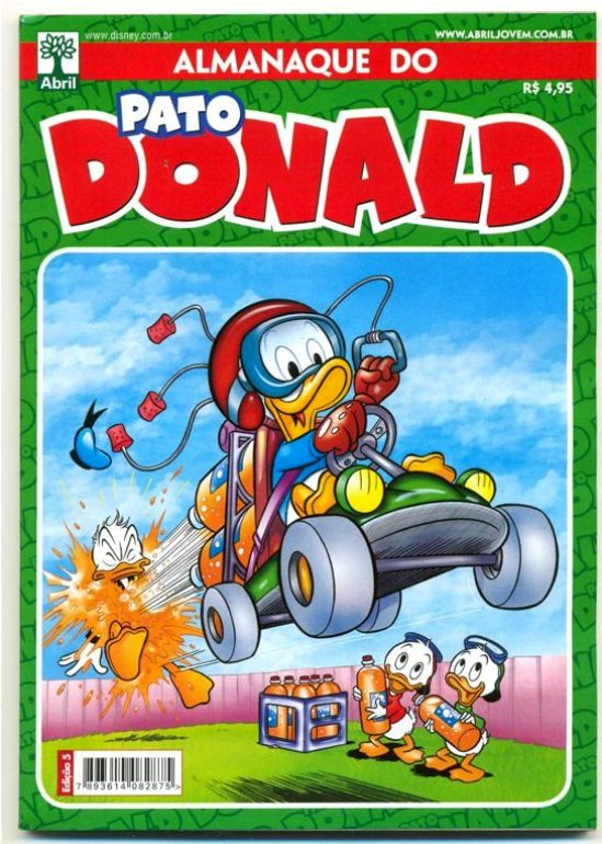 ALMANAQUE DO PATO DONALD - 2ª SÉRIE  nº05 - ED. ABRIL