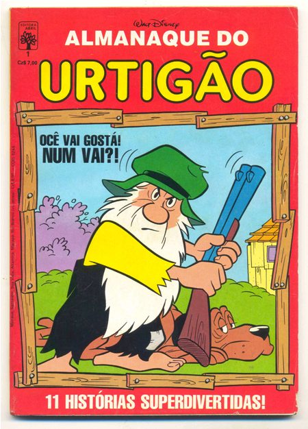 ALMANAQUE DO URTIGÃO nº01 - EDITORA ABRIL
